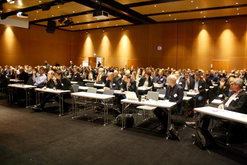 Vd-tidningen arrangerade fullmatad konferens för ledningsgrupper