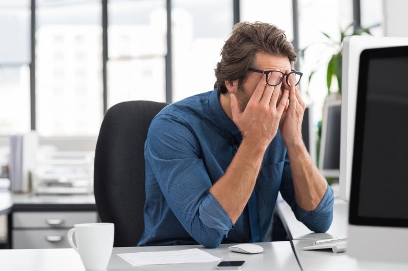 Stressig arbetsvardag för tjänstemännen