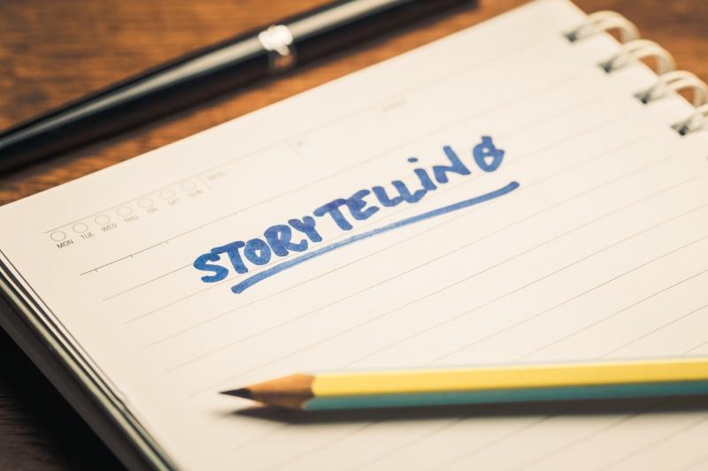 Konsten att arbeta med storytelling