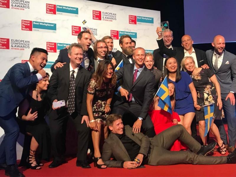 Svenska företag i toppen på europeisk rankinglista
