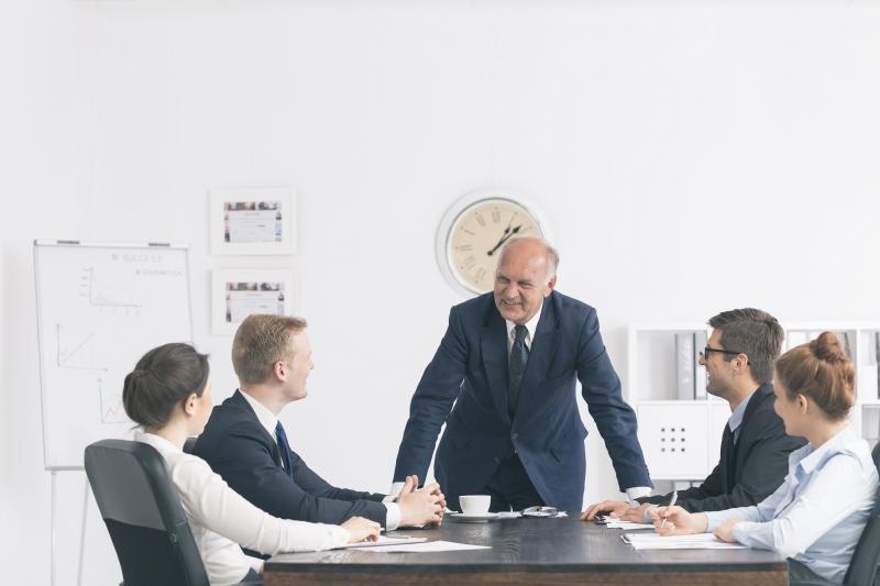 Många chefer tycker sig ha drömjobbet