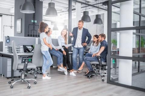 Aktivitetsbaserade kontor kan ge sämre ergonomi