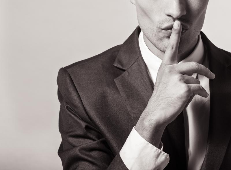 Ovisshet kring skyddande av företagsuppgifter
