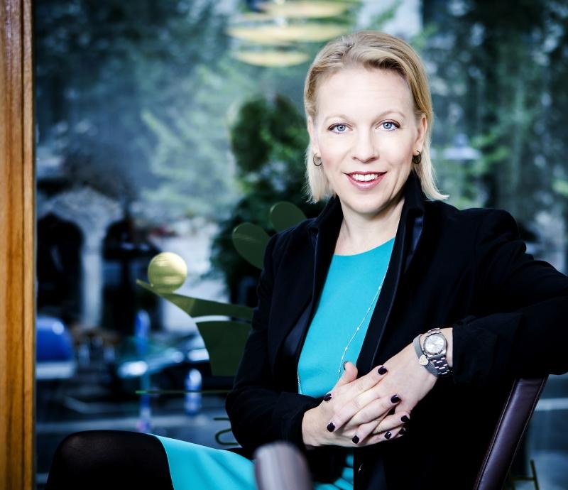 Maria Rankka talare på vår konferens Vd-dagen