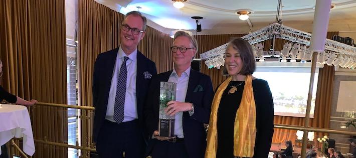 Fredrik Wirdenius blev årets hållbara ledare