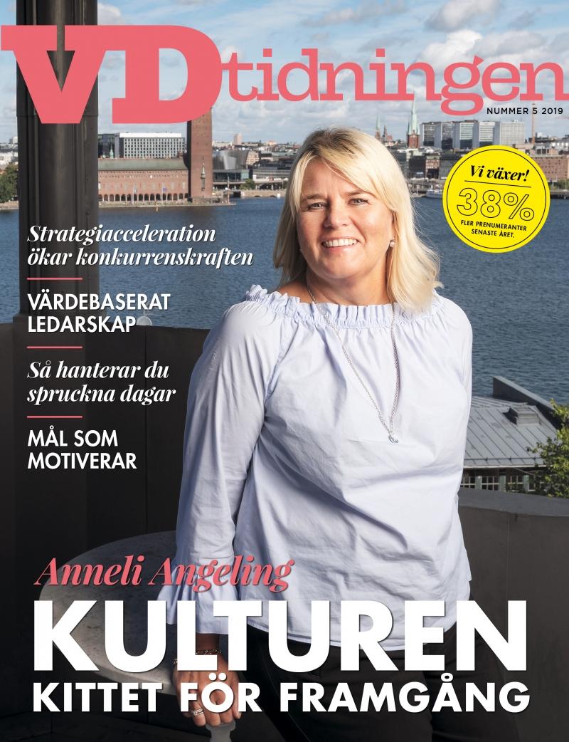Nyt nummer ute : Vd-tidningen nr 5 2019