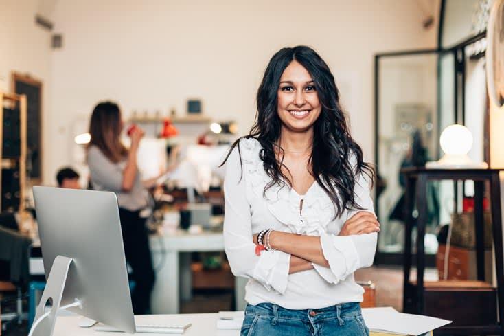 Få kvinnliga företagsledare i Sverige