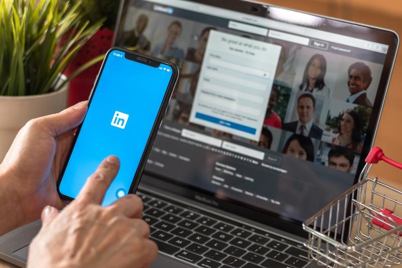 Linkedin viktigare än Google för Sveriges chefer