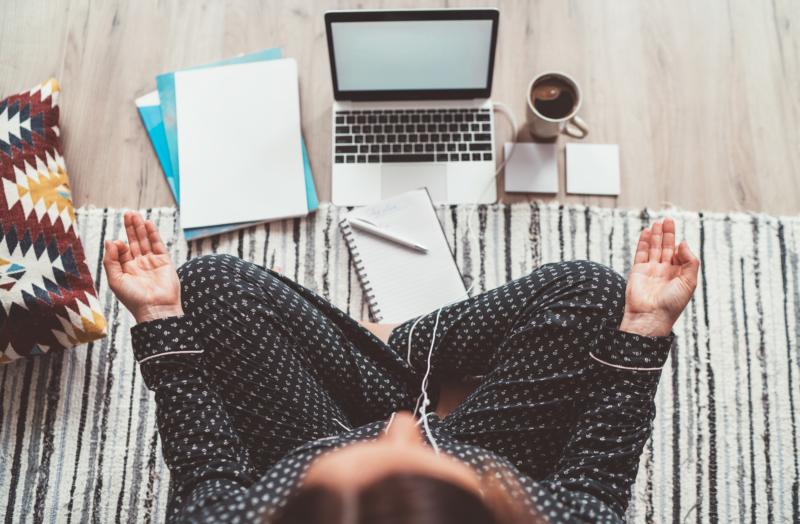 Att jobba hemifrån påverkar inte vårt engagemang för jobbet