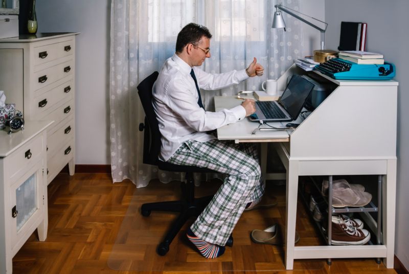 Svenskarna bäst förberedda på hemarbete i Europa