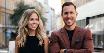 Caroline Lidman och Aleksandar Goga betonar vikten av att bygga kultur och ha en plan för vad bolaget ska ha för värderingar och stå för.