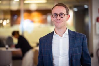 Fredrik Wikner, affärsrådgivare och kontorschef hos Grant Thornton i Umeå