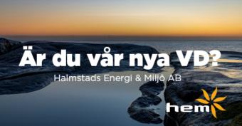 VD till Halmstads Energi och Miljö AB