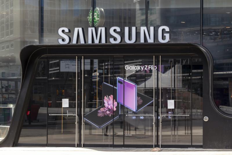 Världens bästa arbetsgivare är Samsung
