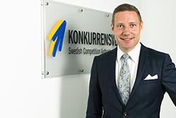 Rikard Jermsten. Foto Andreas Eklund. Rikard Jermsten, Generaldriektör Konkurrensverket. Foto Andreas Eklund.