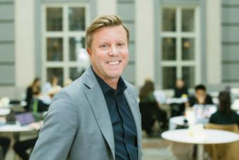 Mattias Nordqvist konstaterar att en viktig egenskap hos ett familjeföretag är att de har verkliga och synliga ägare. Foto: Juliana Wiklund
