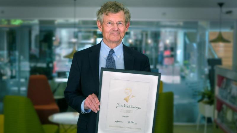 Nicolinpriset 2021 till Jacob Wallenberg