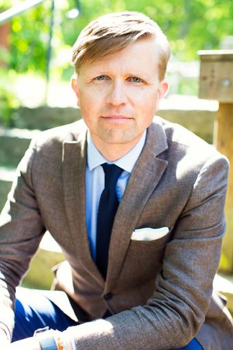 David Stiernholm är struktör och författare med specialitet att hjälpa människor att effektivisera sin vardag. Fotograf:Anna Sigvardsson.