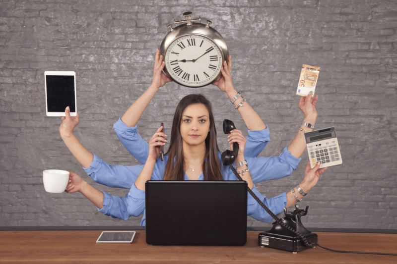 Vanligt med multitasking under videomöten
