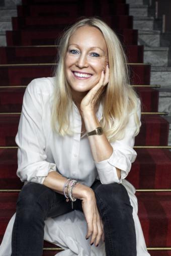 "Ulrica Norberg har skrivit ""Nyfiken – väck ditt inre geni"".Fotograf Caroline Andersson Renaud"